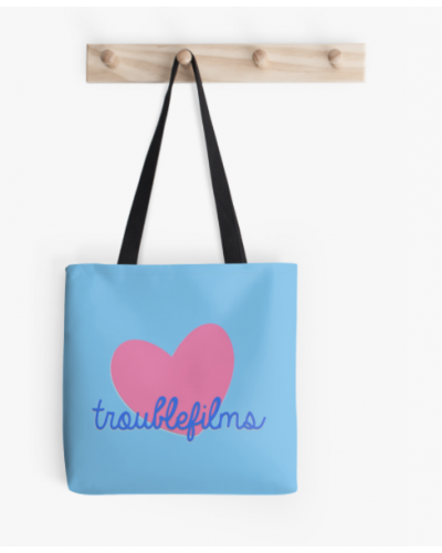TROUBLEfilms Tote Bag